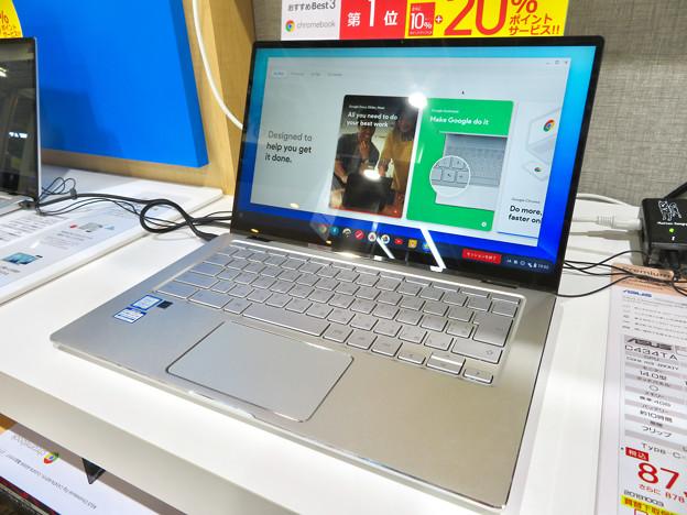 ASUSの14インチ 2in1 Chromebook「C434TA-A10095」 - 1