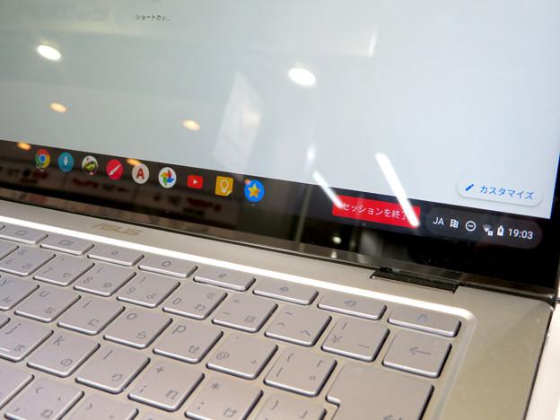 ASUSの14インチ 2in1 Chromebook「C434TA-A10095」 - 2