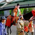 Photos: 名古屋まつり 2019:女性が演じてた森蘭丸