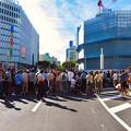 Photos: 名古屋まつり 2019:大勢の人で賑わうパレード通行中の大津通 - 2