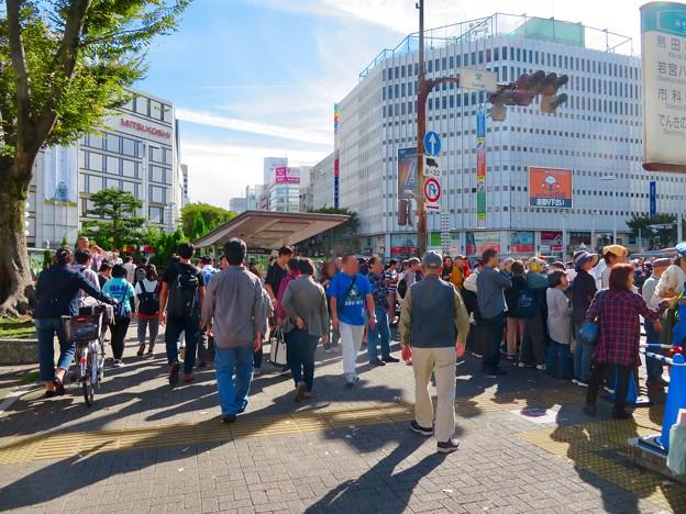 名古屋まつり 2019:大勢の人で賑わうパレード通行中の大津通 - 3