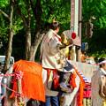 Photos: 名古屋まつり 2019:馬に乗ってパレードする三英傑・織田信長役の人 - 2