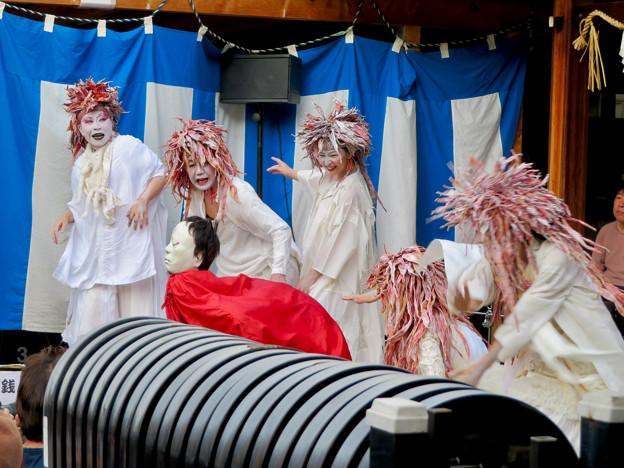 Photos: 大須大道町人祭 2019:シュールなコント - 3