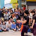 Photos: 大須大道町人祭 2019:今回一番盛り上がってた兄弟ジャグラー「桔梗ブラザーズ」のパフォーマンス - 2