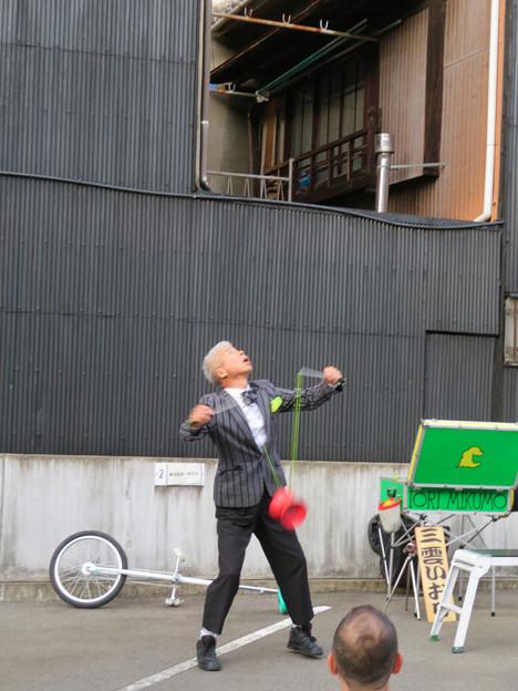大須大道町人祭 2019:三雲いおりさんのパフォーマンス - 2