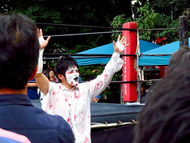 Photos: 大須大道町人祭 2019:大須プロレス - 1