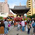 大須大道町人祭 2019:大勢の人で賑わう大須観音