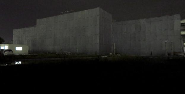 解体工事中の旧ザ・モール春日井(2019年10月23日) - 8:「LIVIN」の文字が見えなくなる