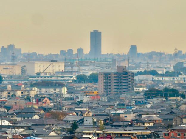 すいとぴあ江南から見たザ・シーン城北とアンビックス志賀ストリートタワー - 1