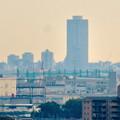 すいとぴあ江南から見たザ・シーン城北とアンビックス志賀ストリートタワー - 2