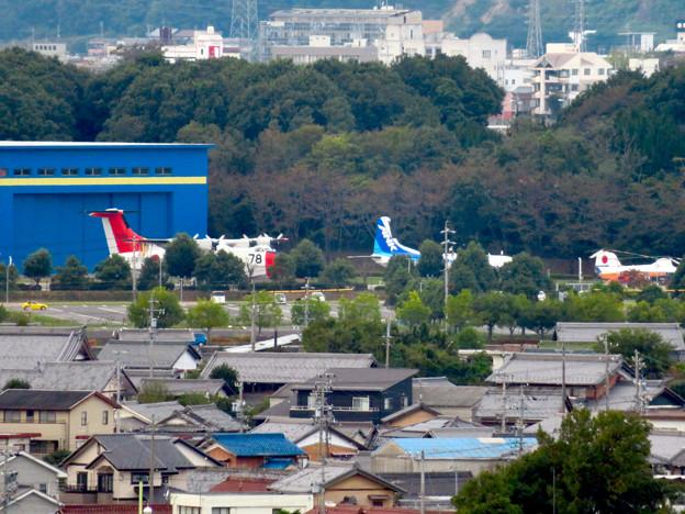 Photos: すいとぴあ江南から見た岐阜かかみがはら航空宇宙博物館 - 3