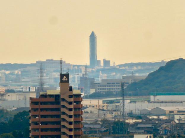 すいとぴあ江南から見た東山スカイタワー - 2