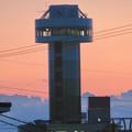 Photos: 夕暮れ時木曽川沿いから見た「すいとぴあ江南」
