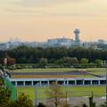 前渡不動山にある佛眼院から見た景色 - 1:すいとぴあ江南と名駅ビル群
