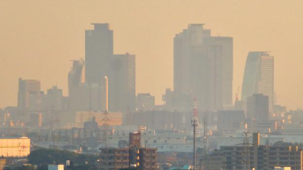 前渡不動山にある佛眼院から見た景色 - 10:名駅ビル群