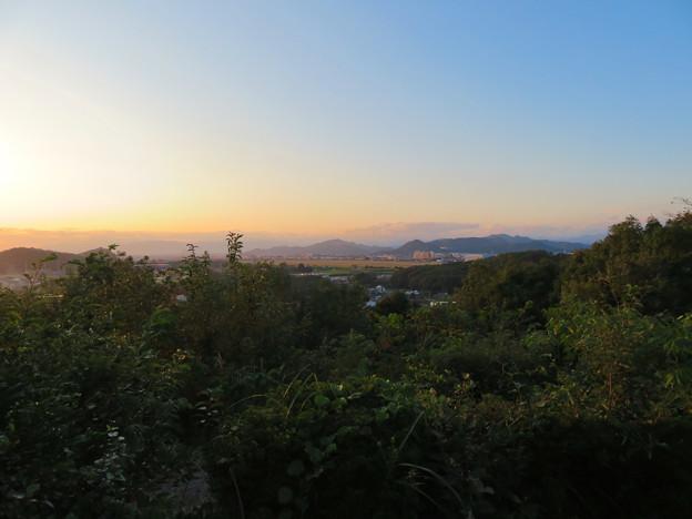前渡不動山にある佛眼院から見た景色 - 11:山頂から見た岐阜方面