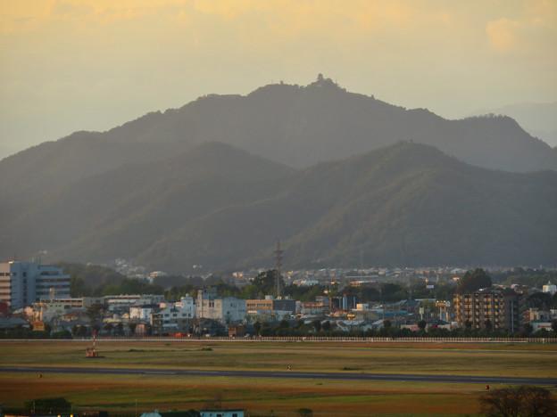 前渡不動山にある佛眼院から見た景色 - 13:山頂から見た岐阜城・金華山