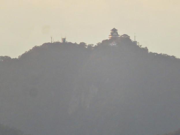 前渡不動山にある佛眼院から見た景色 - 14:山頂から見た岐阜城・金華山