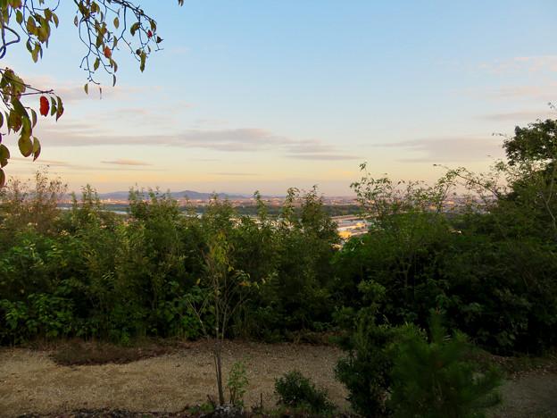 前渡不動山にある佛眼院から見た景色 - 17:山頂から見た南東方面