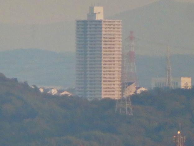 前渡不動山にある佛眼院から見た景色 - 21:山頂から見えたスカイステージ33