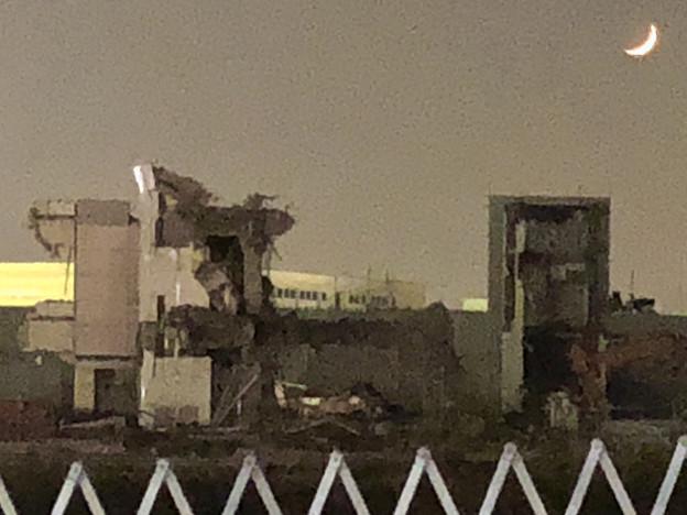 解体工事中の旧ザ・モール春日井(2019年10月31日):建物のほとんどがわずか2日でなくなる!? - 12