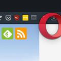 Photos: アクティブなアプリのアイコンを表示するアプリ「Focus」- 4:フルスクリーンでも表示