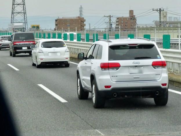東名高速を走っていた車