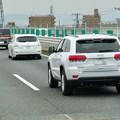 Photos: 東名高速を走っていた車