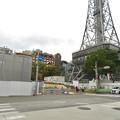 Photos: リニューアル工事中の久屋大通公園(2019年11月3日)- 2:テレビ塔前にも建物が建設中