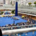 Photos: 栄まちじゅう音楽広場 2019 No - 2:沢山の人が観ていた名古屋市消防音楽隊の演奏パフォーマンス