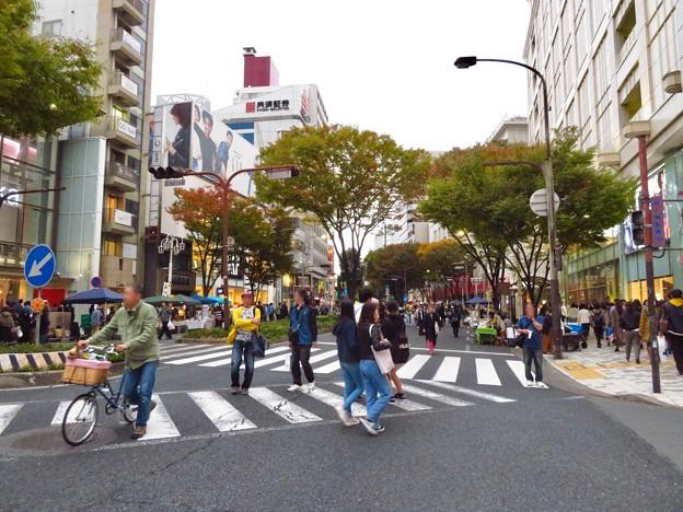 秋の栄南大津通歩行者天国(2019年11月3日)