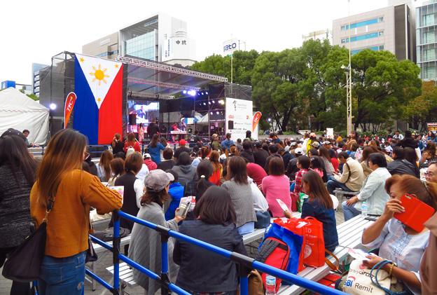 フィリピンフェスティバル 2019 No - 4:沢山の人で賑わう会場