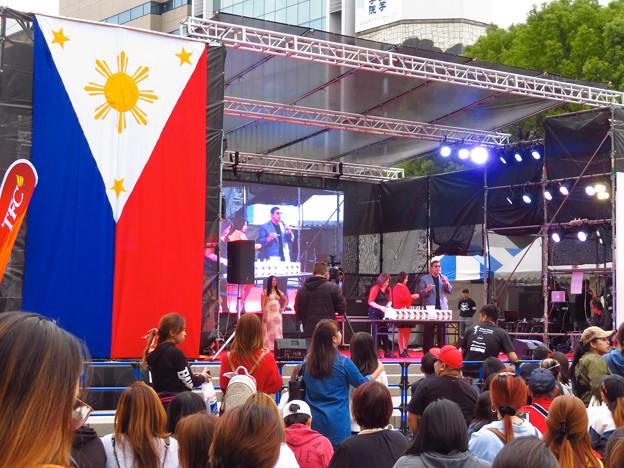 フィリピンフェスティバル 2019 No - 5:沢山の人で賑わう会場