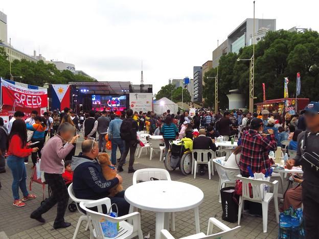 フィリピンフェスティバル 2019 No - 8:沢山の人で賑わう会場