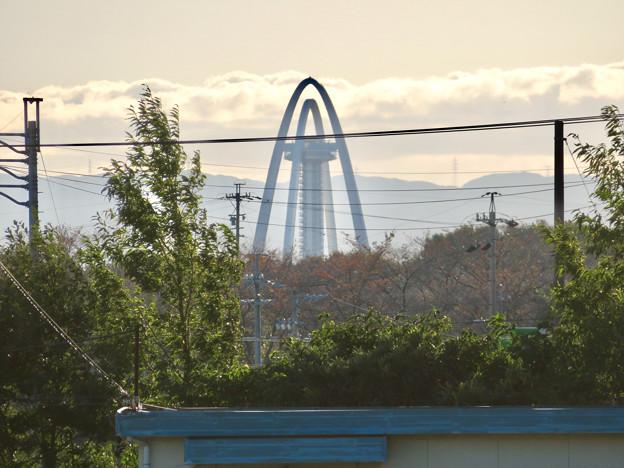 各務原市内から見たツインアーチ138 - 1