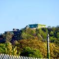 Photos: 航空自衛隊 岐阜基地 - 4:基地内の山の上にある建物