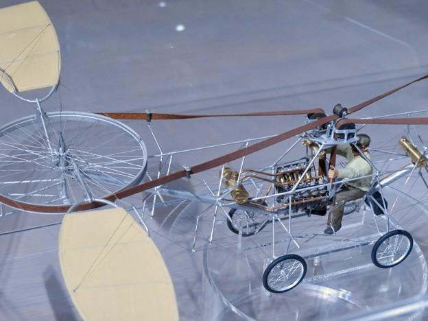 岐阜かかみがはら航空宇宙博物館 No - 67:ポール・コルニュのヘリコプター(20分の1)模型