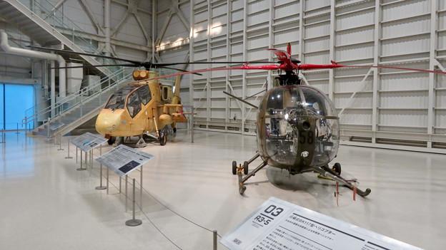 岐阜かかみがはら航空宇宙博物館 No - 102:整備ハンガーの様な巨大な展示ゾーン