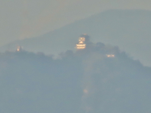エアフロントオアシス春日井から見た岐阜城・金華山 - 4