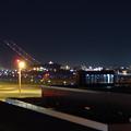 Photos: 飛び立った飛行機の光の奇跡(SX730HSで撮影、6秒、F4.5、ISO 80)- 2