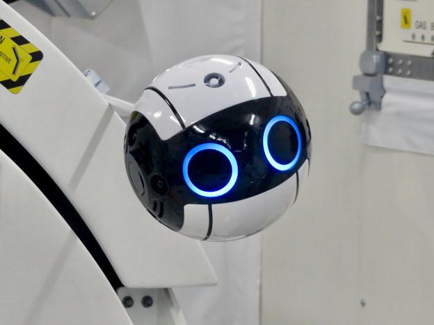 岐阜かかみがはら航空宇宙博物館:実物大の国際宇宙ステーション実験棟「きぼう」- 15:ロボットカメラ「Int-Ball」