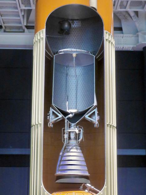 岐阜かかみがはら航空宇宙博物館 No - 155:H2ロケットの20分の1模型