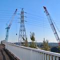 Photos: 神領車両区近くに建設中の丸い建物 - 1