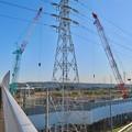 Photos: 神領車両区近くに建設中の丸い建物 - 4