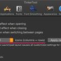 Photos: Tinkertool 7.42:Launchpadの設定項目 - 3