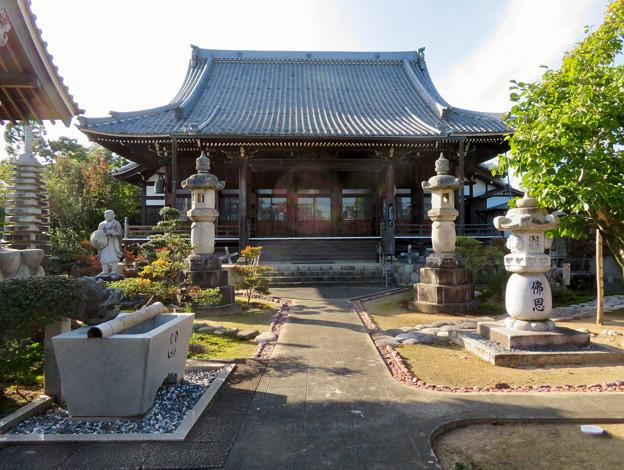 中山道 間の宿 新加納 No - 12:善休寺の本堂