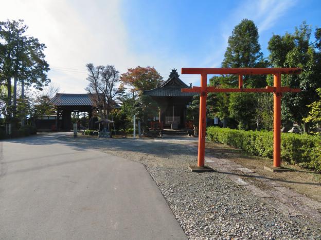 中山道 間の宿 新加納 No - 17:少林寺の稲荷堂