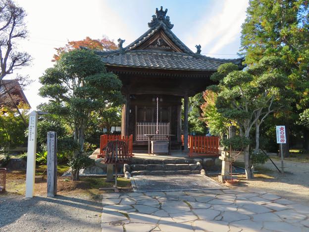 中山道 間の宿 新加納 No - 18:少林寺の稲荷堂