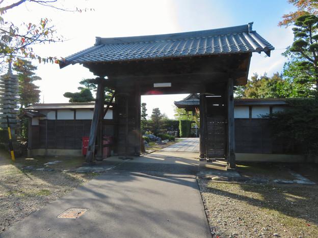 中山道 間の宿 新加納 No - 22:少林寺の山門