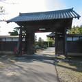 Photos: 中山道 間の宿 新加納 No - 22:少林寺の山門